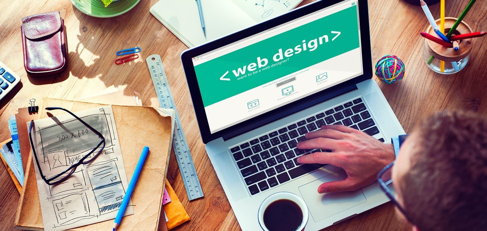 Web Design Planning Mockup