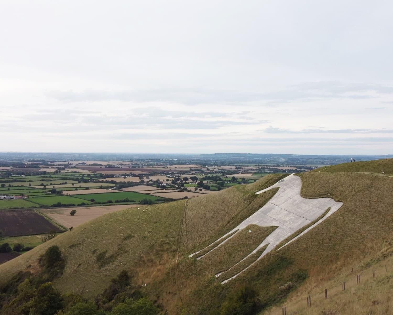 White Horse In Westbury, Wiltshire
