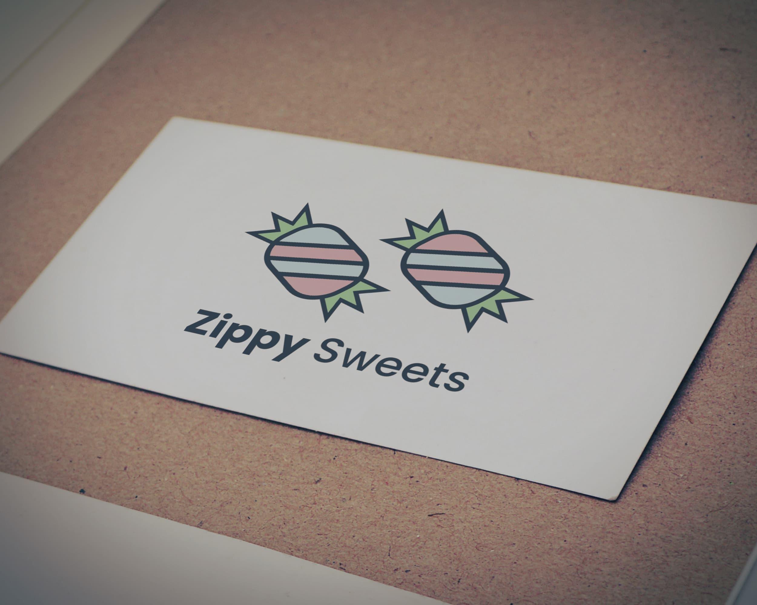 Zippy Sweets Logo Design